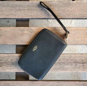 UGG wristlet wallet and phone case